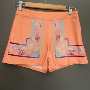Sucre Collective Shorts - Sucre Collective Tribal Print Shorts